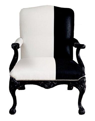 black and white chair Stole Pinterest Rokoko, Barock und Sessel