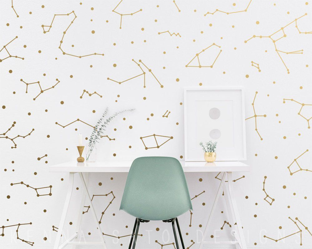Constellation Wall Decals Constellation Wall Decor Zodiac Gift Star Decals Zodiac Decor Gi Constellation Wall Decal Kid Room Decor Constellation Wall Art