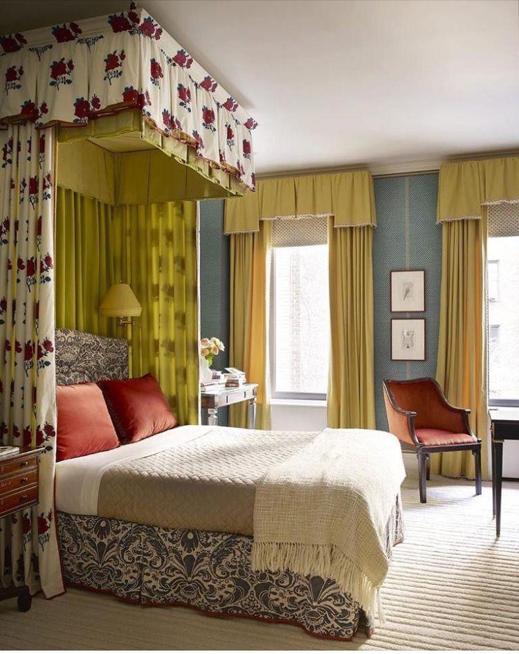 Pin de pilar garc a cerd n en decoraci n dormitorios cabezal cama dormitorios y camas con dosel - Doseles para camas ...