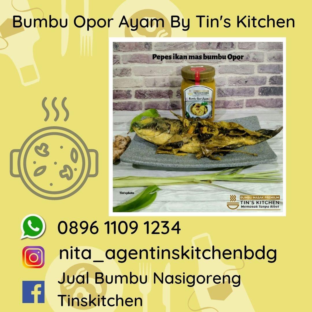 Pin On Bumbu Instan Opor Ayam Tins Kitchen 0896 1109 1234
