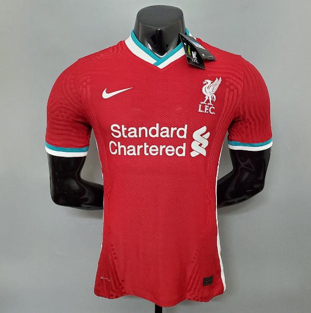 Camisa Liverpool Modelo Jogador 20 21 Camisa Liverpool Liverpool Camisa