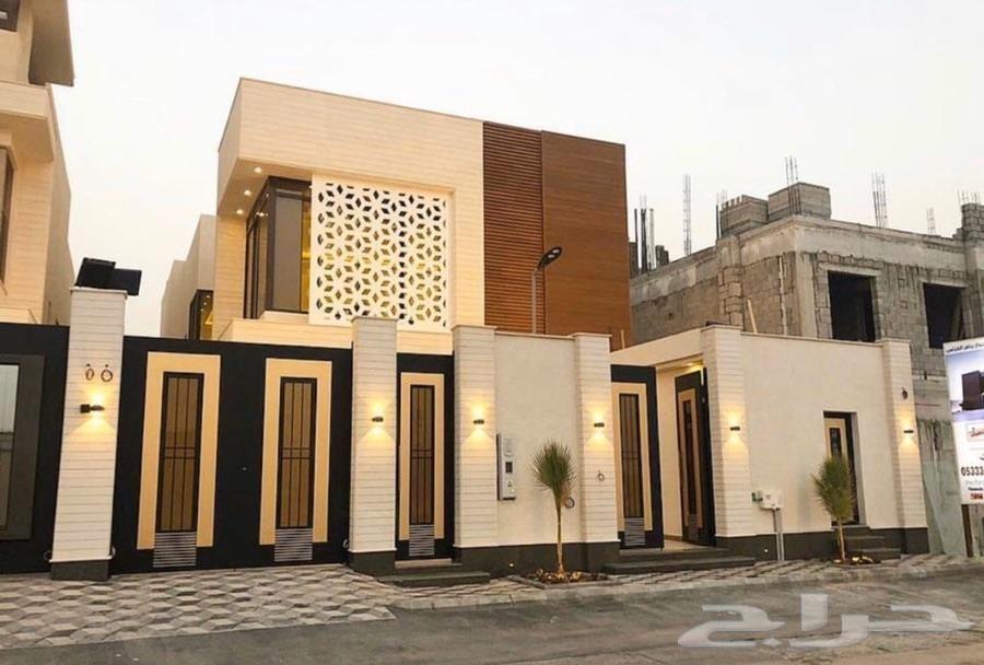 تصميم وتنفيذ واجهات فلل الرياض House Styles Mansions House
