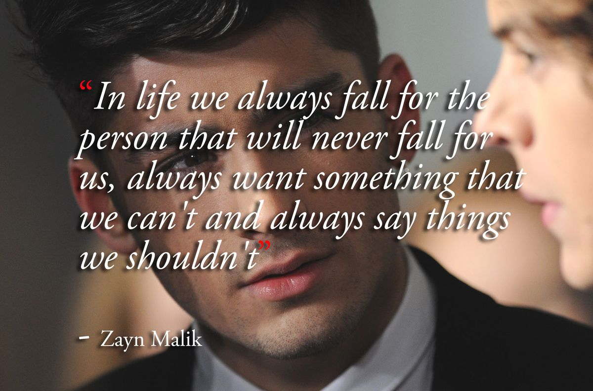 9 Inspirational Zayn Malik Quotes To Make Any One Direction Fan Smile