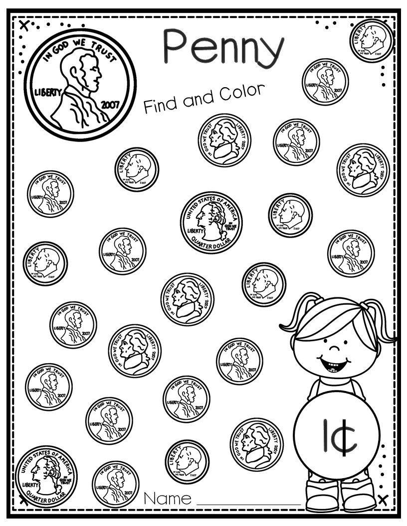 Money Coin Printables For Young Learners With Bonus Clip It Cards Center Kindergarten Money Worksheets Money Worksheets Money Kindergarten [ 1056 x 816 Pixel ]