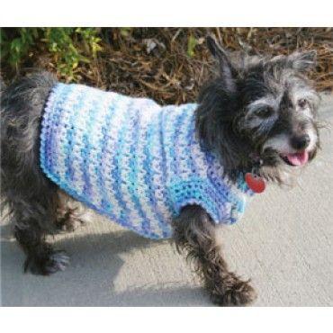 Mary Maxim Free Dog Sweater Crochet Pattern Free Patterns