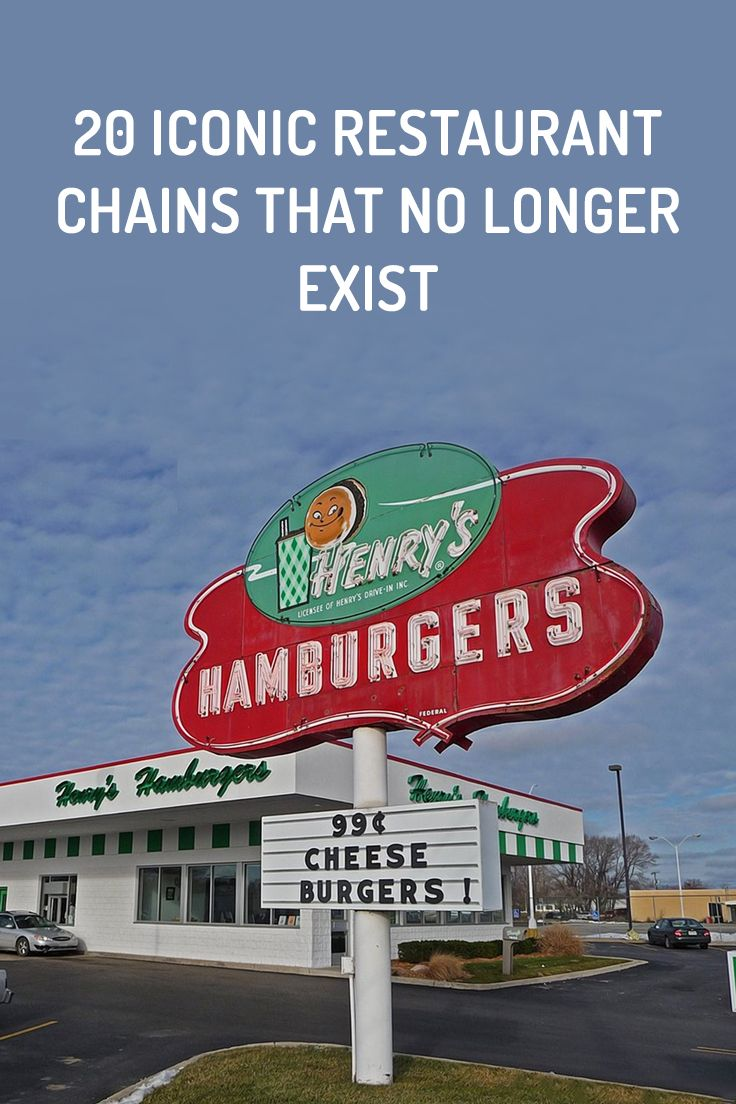 20 Defunct Restaurant Chains In The United States (With
