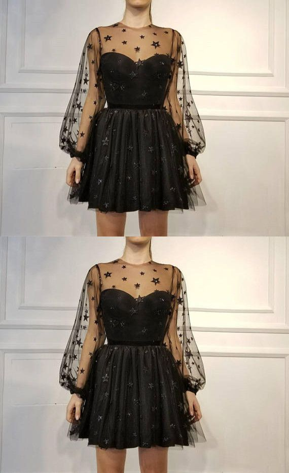 17 dress Black short ideas