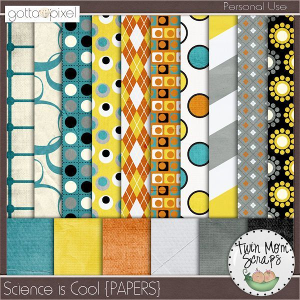 $1 GottaGrabIt is here, SCIENCE IS COOL Collection from TwinMomScraps! Science Is Cool PAPERS; https://www.gottapixel.net/store/product.php?productid=10004070&cat=0&page=1. 14/09/2013