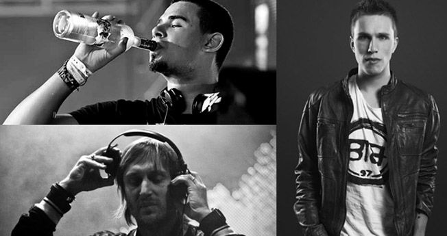 Afrojack, Nicky Romero & David Guetta
