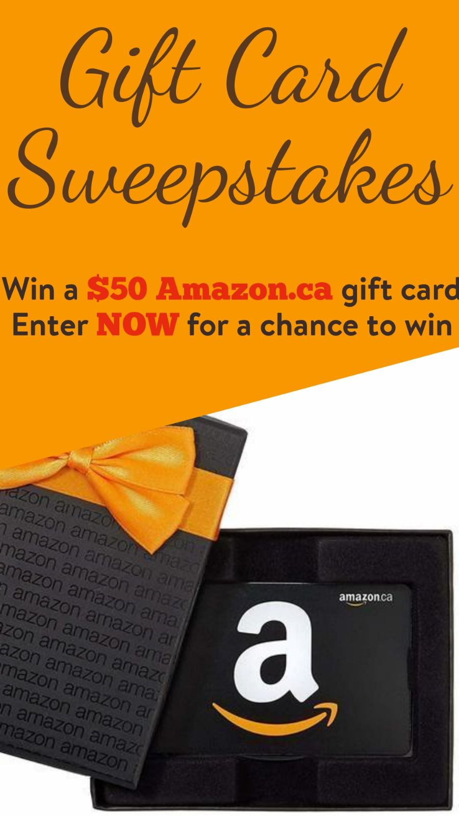 Win A 50 Amazon Ca Giftcard