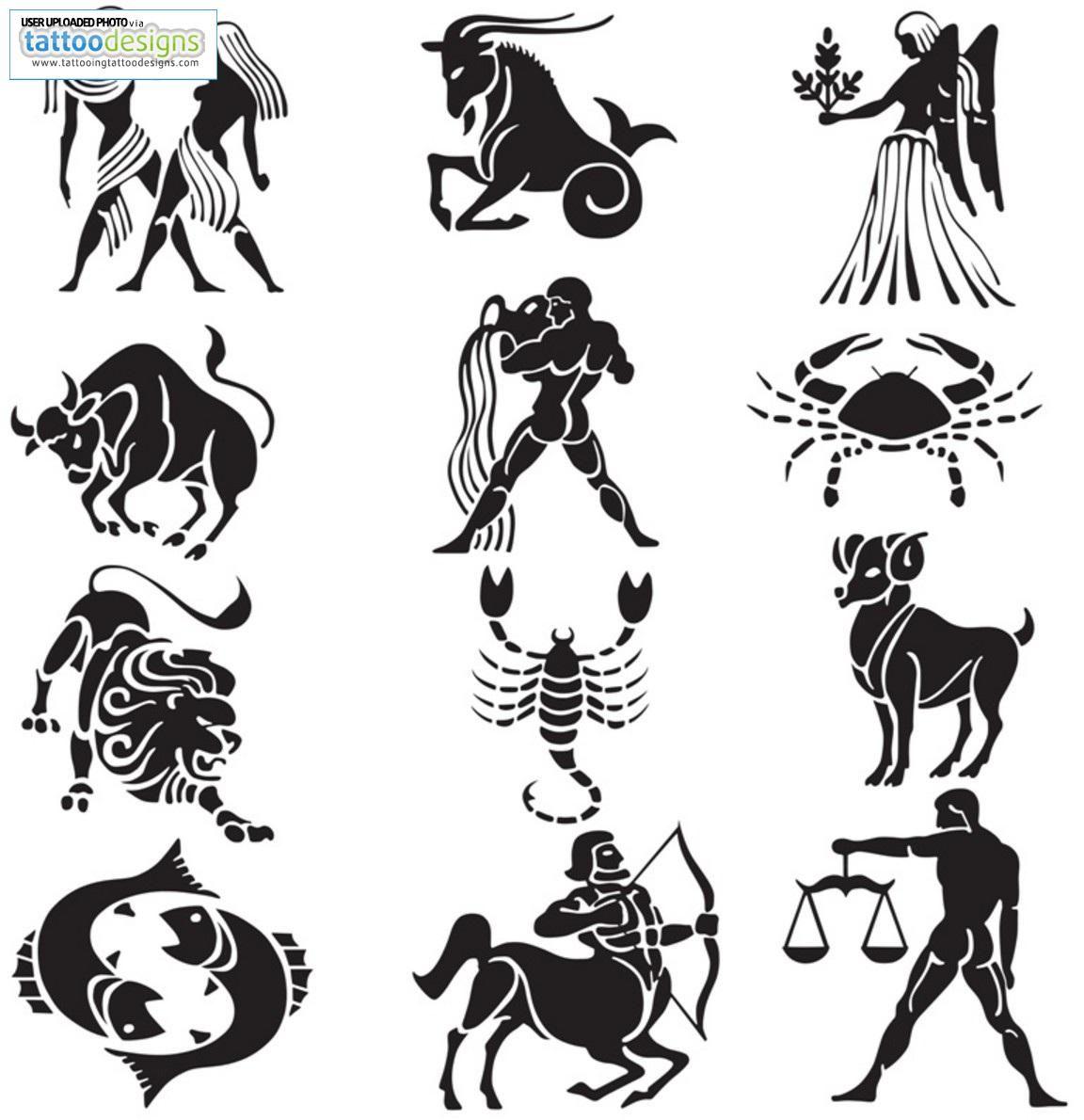 Zodiac tattoo on deviantart free download tattoo 1864 zodiac image detail for astrology tattoos biocorpaavc