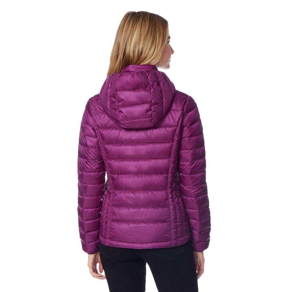 98977ff8845 Women s Heat Keep Down Hooded Puffer Jacket
