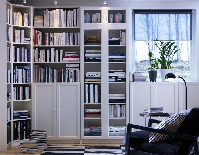 Billy Bookcase White In 2019 Living Rooms Pinterest