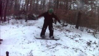 Instant Karma After Guy Pushes #Snowboarder - #funny #FAIL