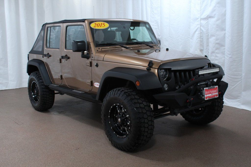 Used 2015 Jeep Wrangler Unlimited Redrox For Sale Red Noland Preowned Colorado Springs 2015 Jeep Wrangler 2015 Jeep Wrangler Sport Jeep Wrangler Unlimited