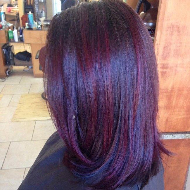 Lovelyburgundystreaks Hair And Beauty Pinterest Black Hair