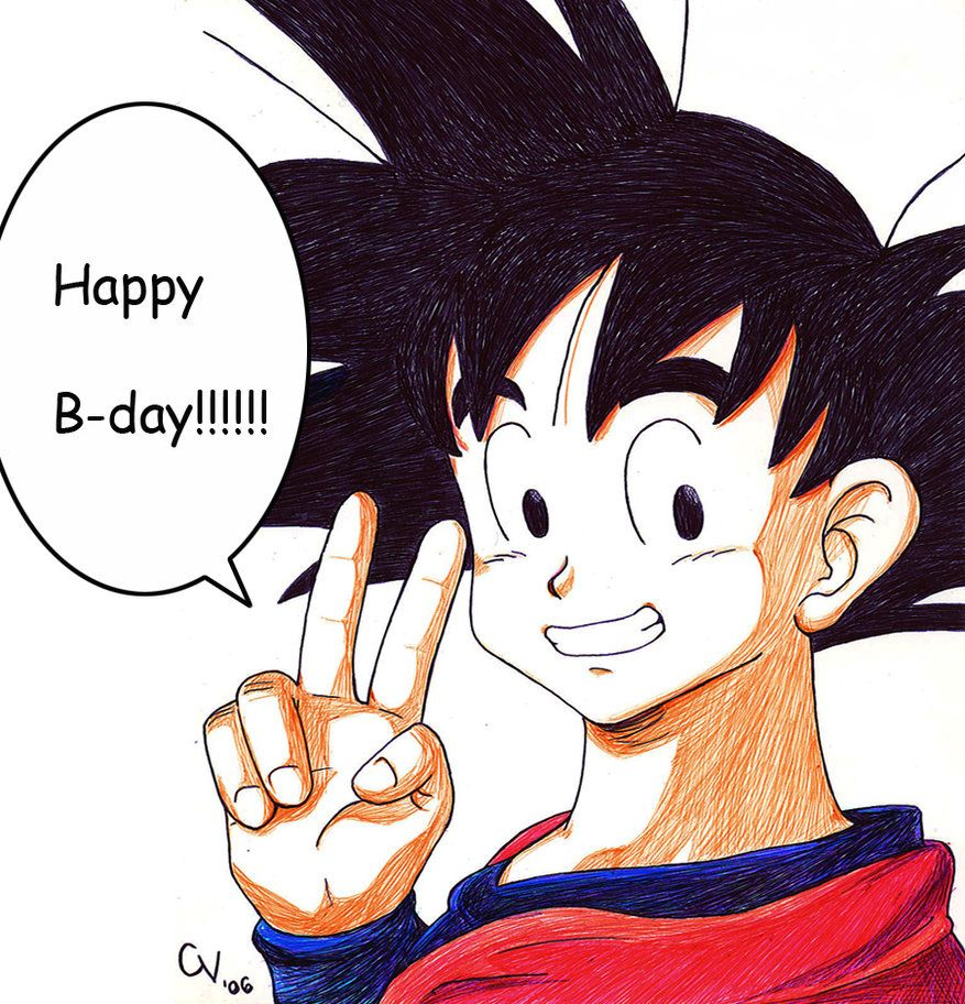 Jejeje This Is A Pic For It Was Her B Day This Last Week So I Made Her This Goku Just For You Maq Hope You Like It Oh And Happy Birthday