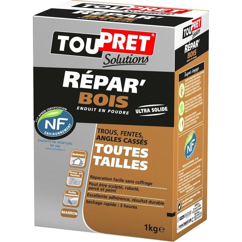 Enduit De Réparation Poudre Repar Bois Toupret 1 Kg