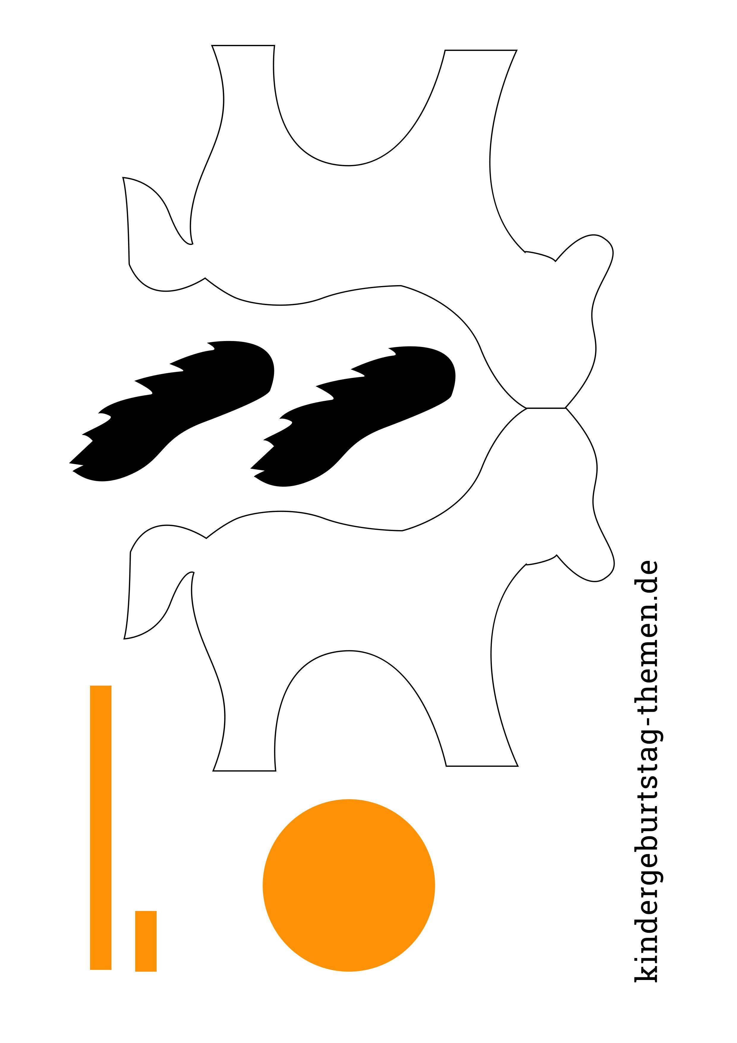 Bastelanleitung Für Ein Pferd Aus Papier Einladungskarten