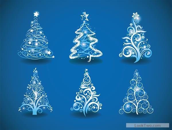 Abstract Christmas Tree Vector Image On Vectorstock Christmas Tree Art Christmas Tree Drawing Christmas Drawing