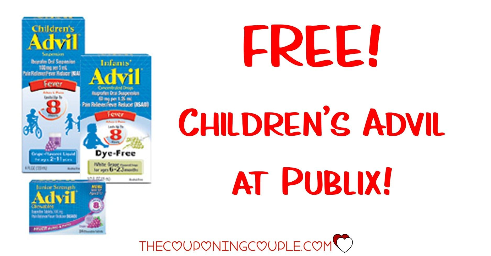 Childrens Advil 2 49 With A Cvs Deal In 2021 Kids Fever Fever Medicine Digital Coupons