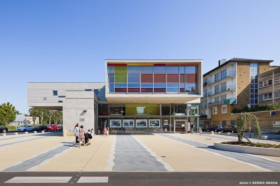 Galería de Centro Cultural Sedan / Richard + Schoeller Architectes - 21