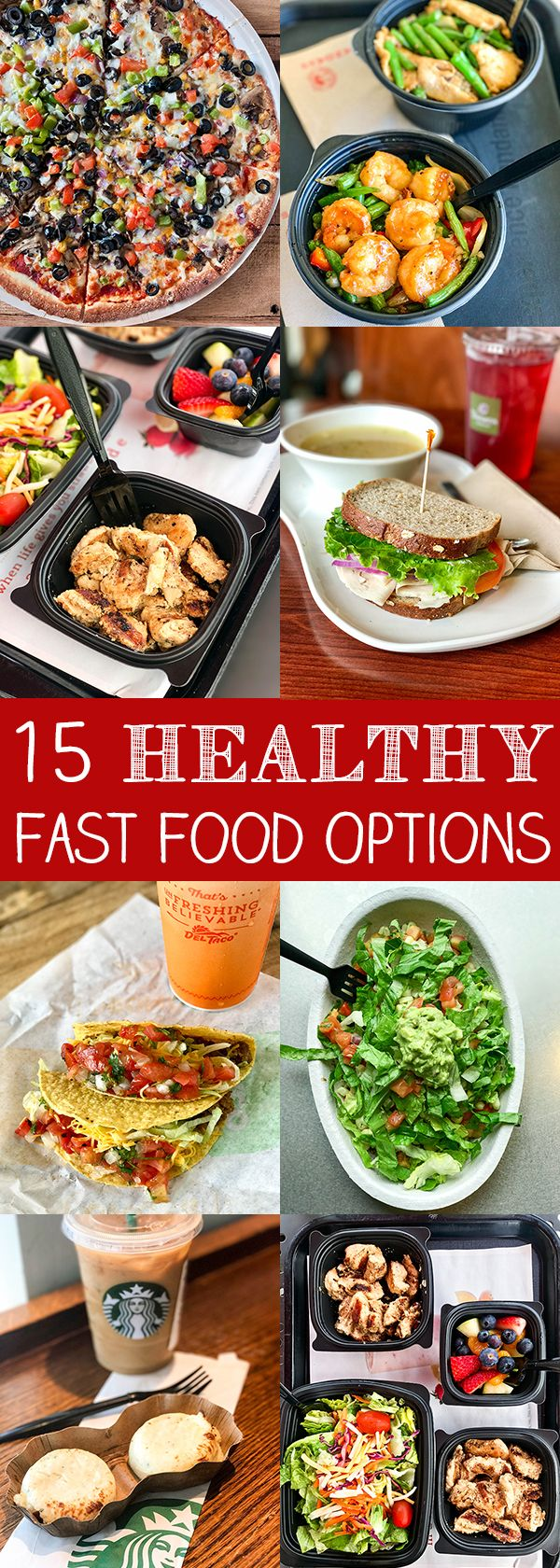 15 healthy fast food options comidas saludables saludable y cocinas its really tough making healthy choices on the go but in an attempt to make forumfinder Choice Image