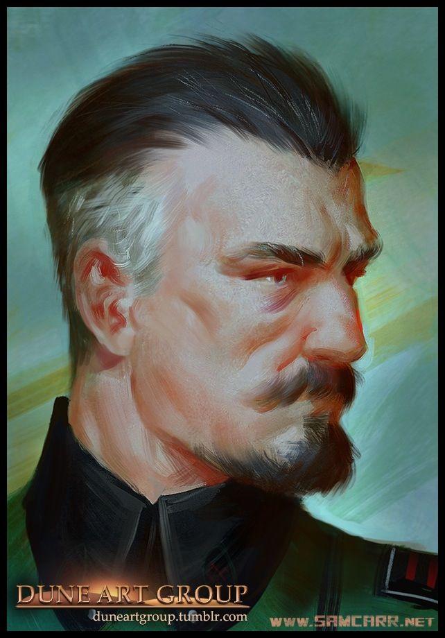 Duke Leto Atreides #scifi #art #illustration