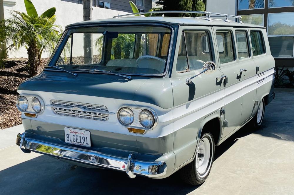1964 Chevrolet Corvair Greenbrier 8 Door Sportswagon In 2020 Chevrolet Corvair Chevrolet Classic Cars Online