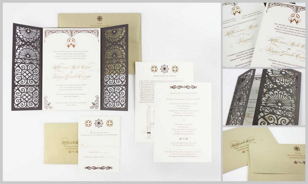 38++ Spanish wedding invitations templates ideas