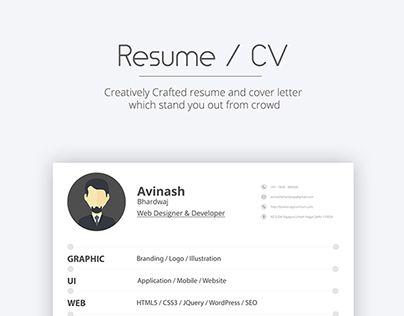 Download Free Resume   CV For Web Designer \ Developer Resume - free resume downloads
