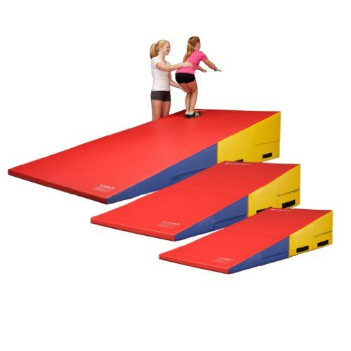 We Sell Mats Gymnastics Non Folding Incline Cheese Wedge Skill Shape Tumbling Mat Pink 33 Long X 24 Wide X 14 Gymnastics Mats Incline Mats Gymnastics Gym
