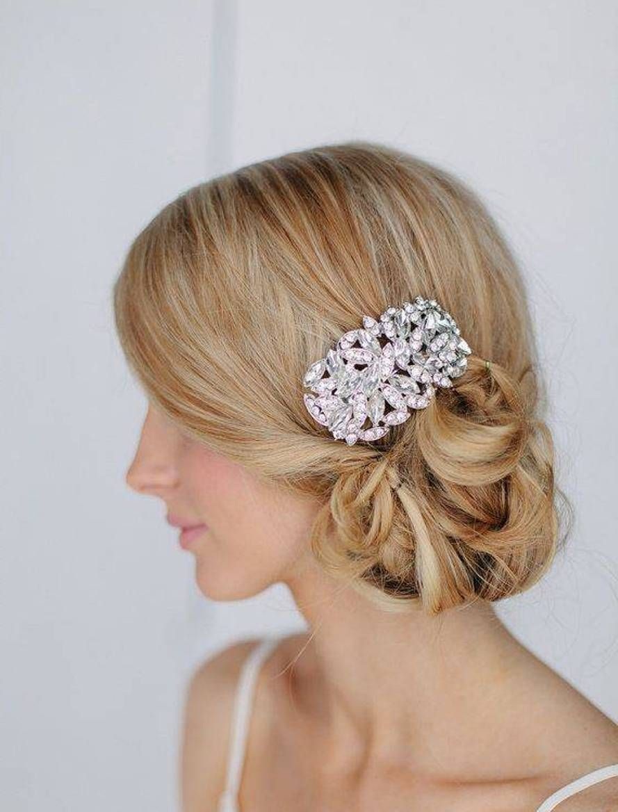 low side bun hairstyles for wedding - http://hairstylee/low