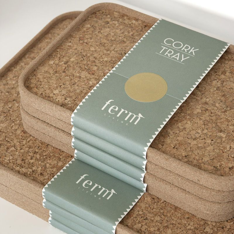 U2039CORK TRAY Smallu203a By Ferm Living   Product Images Of