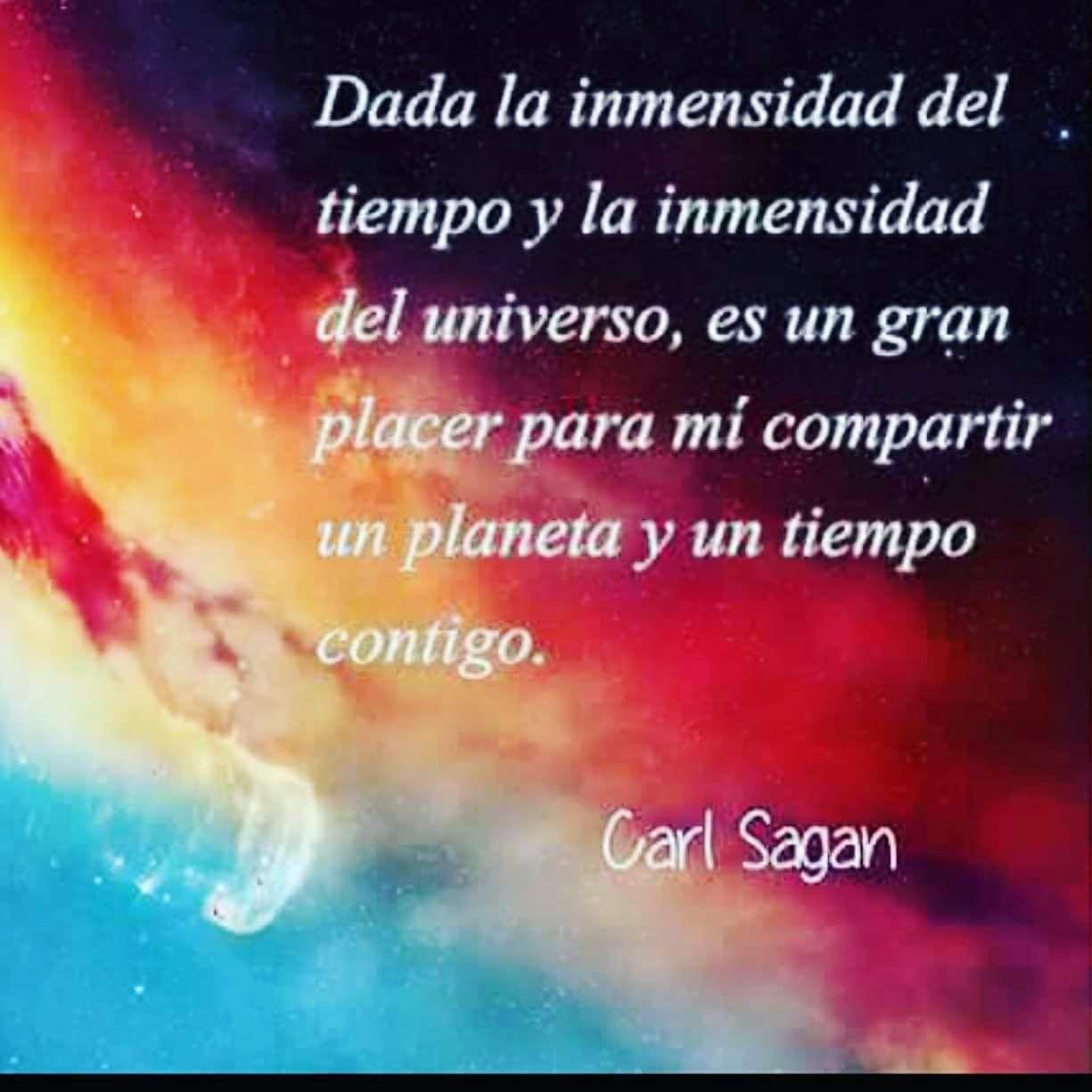 Pin De Elizabet Acosta En Buen Día Carl Sagan Planetas Y