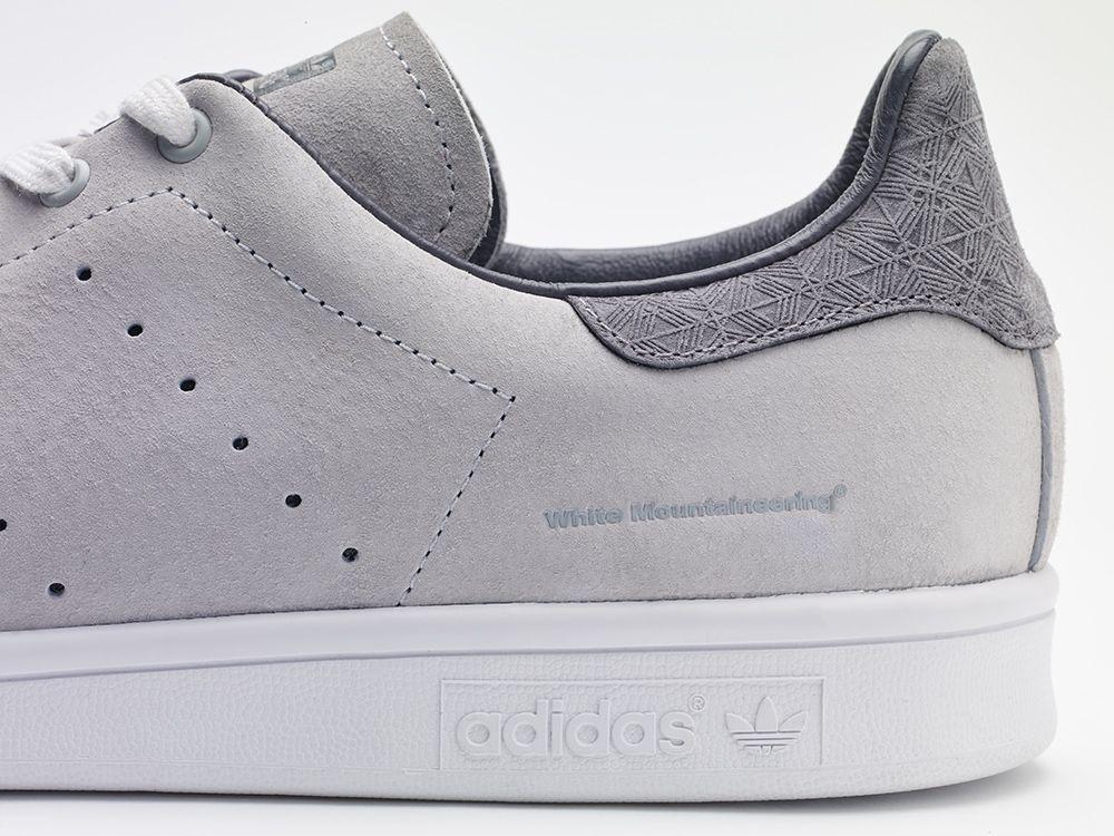 adidas Stan Smith Mens Shoes White Gray