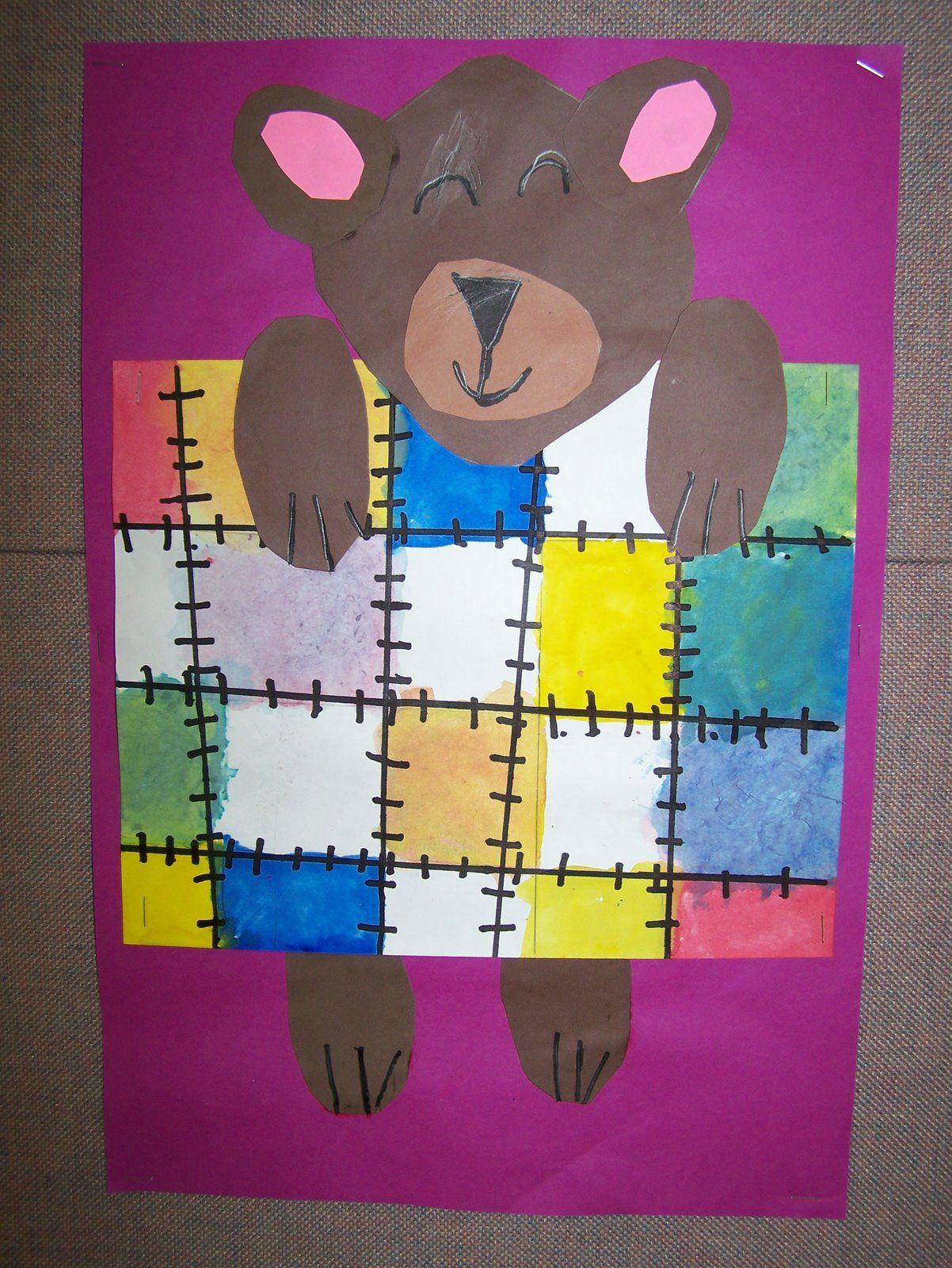 What S Happening In The Art Room 1st Grade Mondrian
