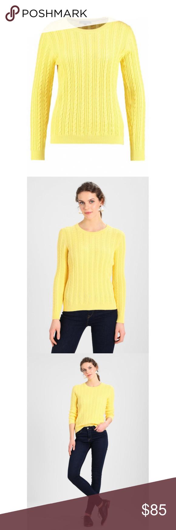 72ccbc19b Tommy Hilfiger Pascalino Knit Sweater Tommy Hilfiger Pascalino Knit Sweater  Details ▫ Color: Yellow ▫