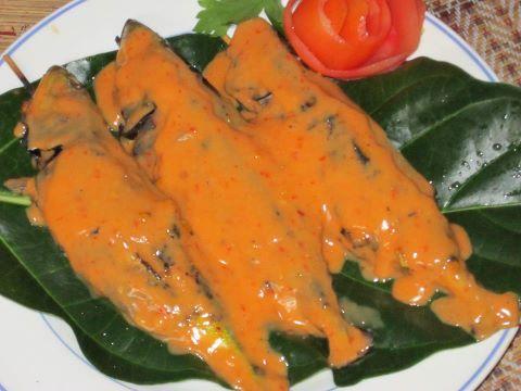 Ikan Percik Terengganu Resepi Mudah Dan Ringkas Recipe Recipes Terengganu Stuffed Peppers
