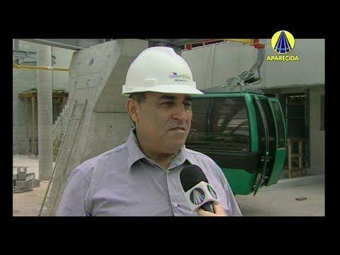 Bem-Vindo Romeiro | Obras do Teleférico de Aparecida - 26 de Fevereiro d...