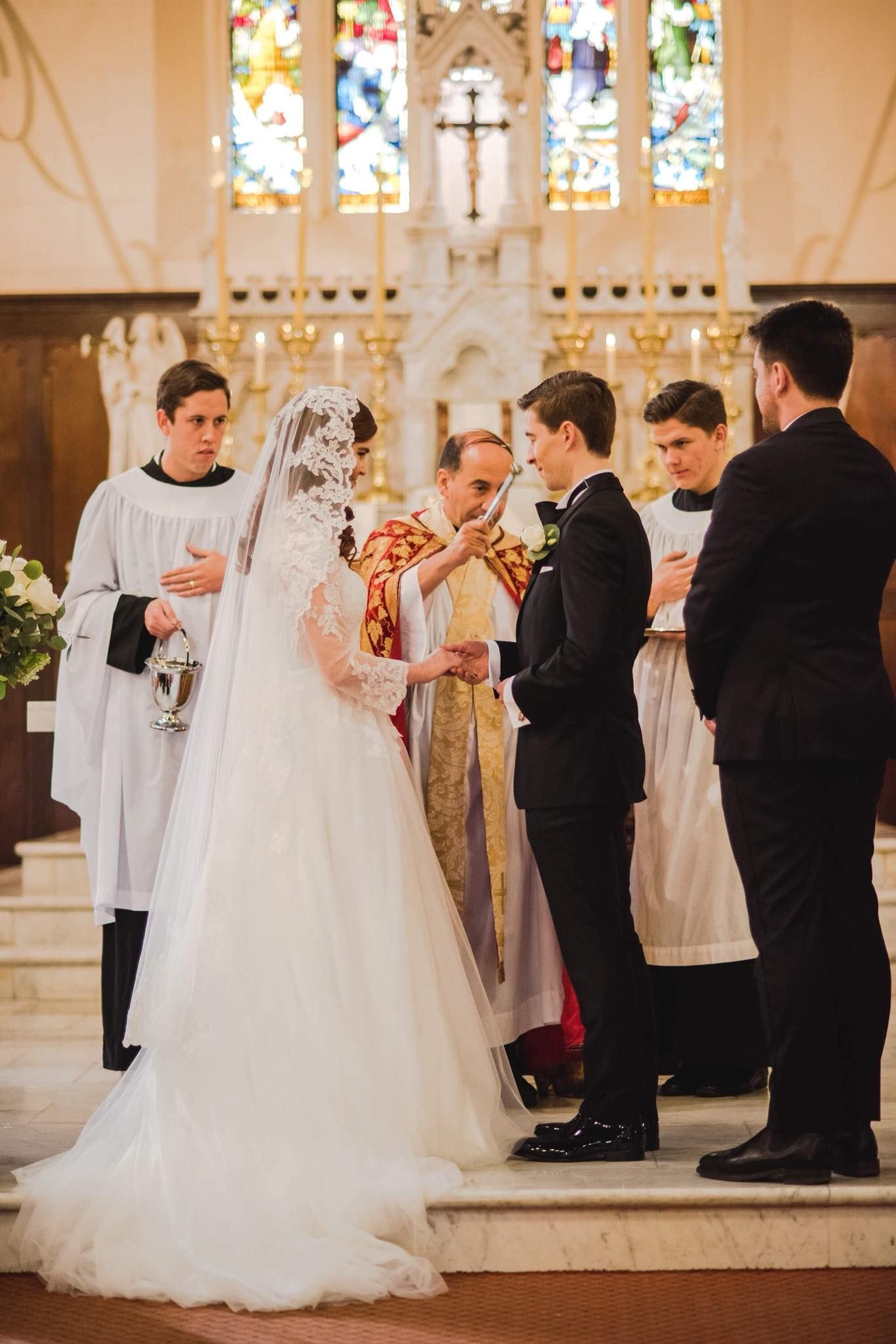 Nuptial Latin Mass  Catholic wedding dresses, Catholic wedding