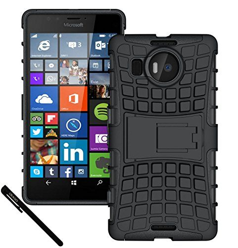 Lumia 950 Xl Case, Oeago Microsoft Lumia 950 Xl Case Cover Accessories - Tough Rugged Dual Layer Protective Case http://www.smartphonebug.com/accessories/20-most-wanted-nokia-xl-accessories/