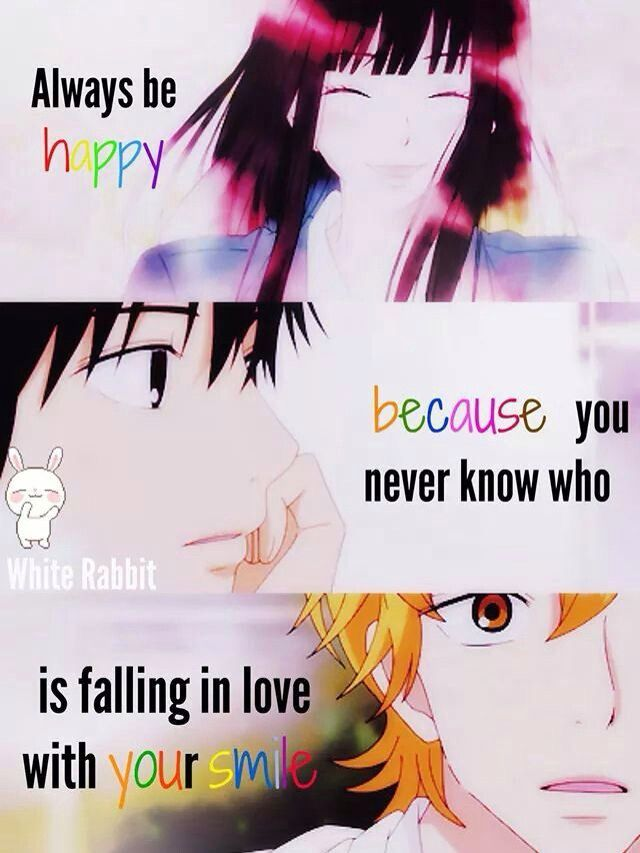 Kimi ni todoke~   Anime love quotes