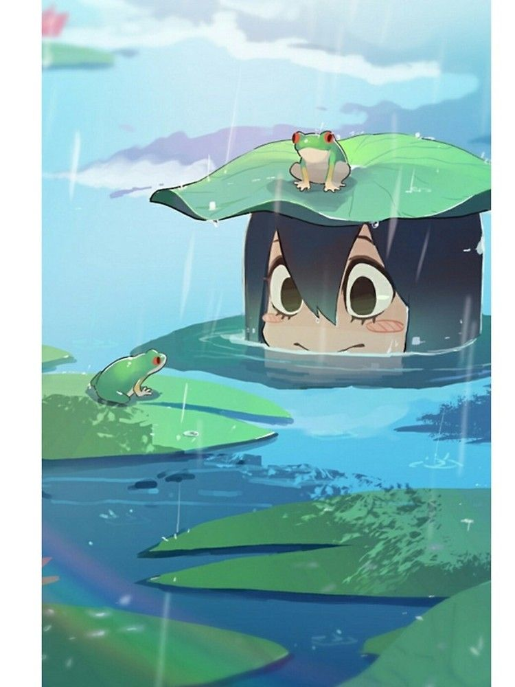 Tsuyu Asui Iphone 12 Soft By Isotopi Hero Wallpaper Anime Wallpaper Cool Anime Wallpapers