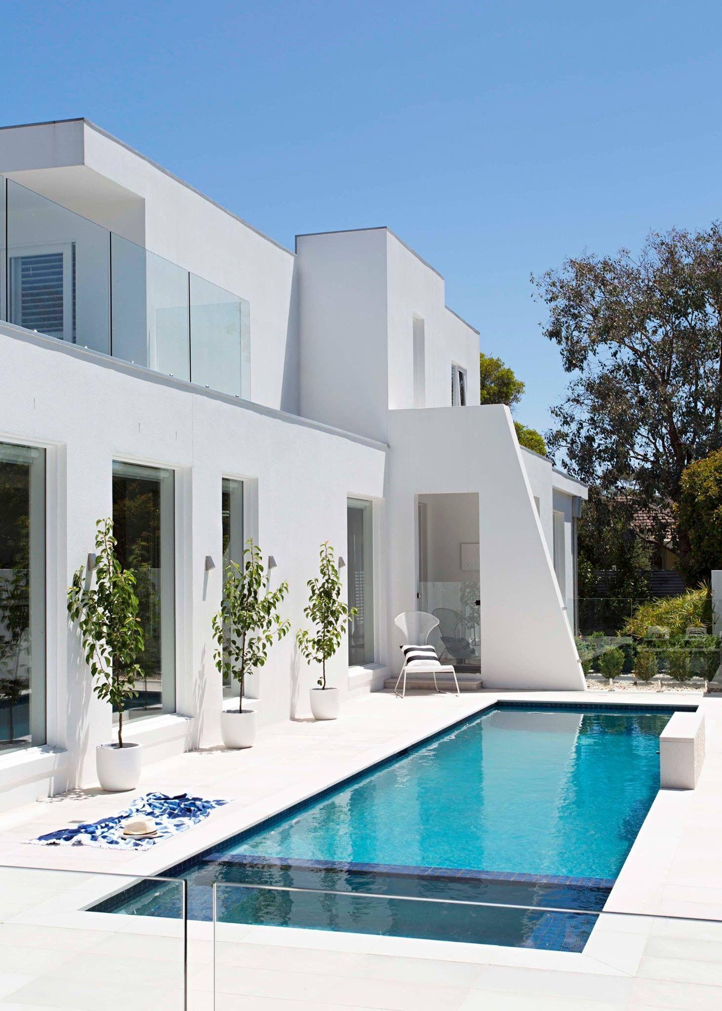 Pin De Rima Dahan Em Rear Space Planos De Casa Modernas Exterior De Casa Moderna Arquitetura De Casa
