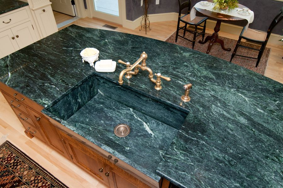 Featured Residential And Serpentine Countertop Projects   Vermont Verde  Antique Serpentine
