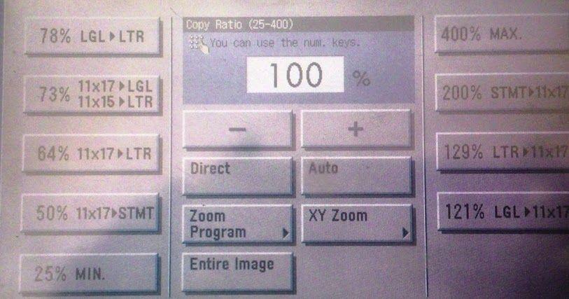 Cara Memperbesar Dan Memperkecil Fotocopy Ukuran Kertas Membaca Tanda