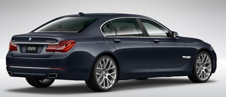 2015 750li Xdrive Sedan Imperial Blue Metallic Exterior Car New