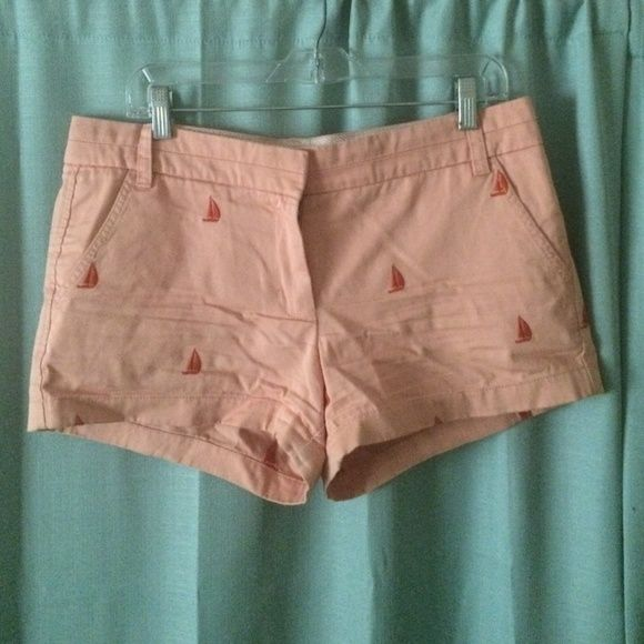 "Selling this J. Crew 3"" chino shorts in my Poshmark closet! My username is: sarahtbaum. #shopmycloset #poshmark #fashion #shopping #style #forsale #J. Crew #Pants"