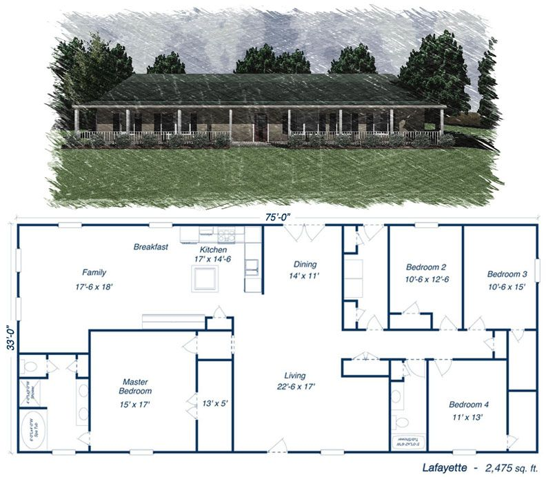 Click to toggle the Lafayette floor plan  Dream home